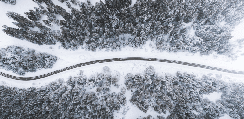 winter-drone